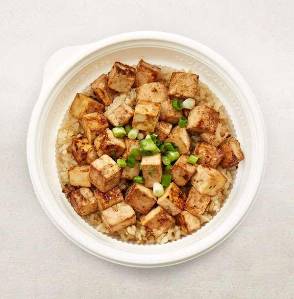 Mini Organic Tofu Bowl